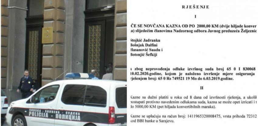 """Kazna za članove NO """"Željeznica FBiH"""" jer su ispoštovali odluku Vlade FBiH?!"""
