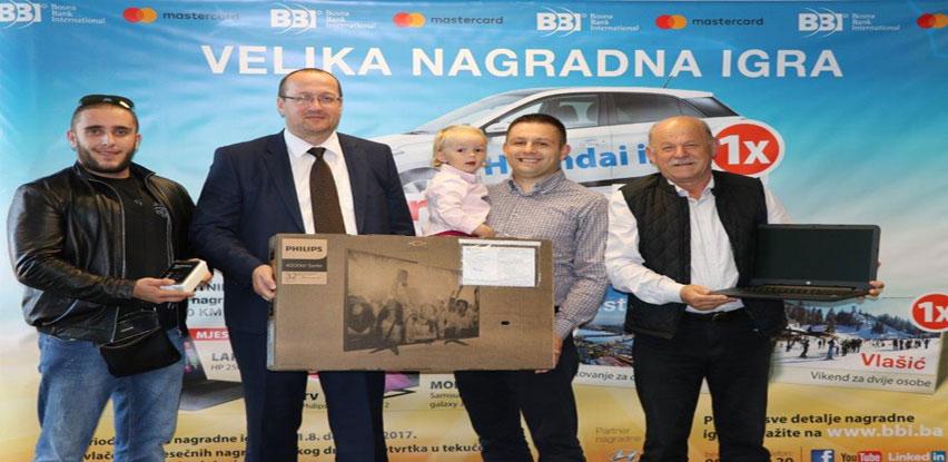 Završen drugi krug nagradne igre BBI Banke i Mastercarda