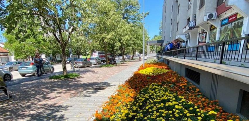 Svečano otvorena novoizgrađena pješačka zona u Lukavcu