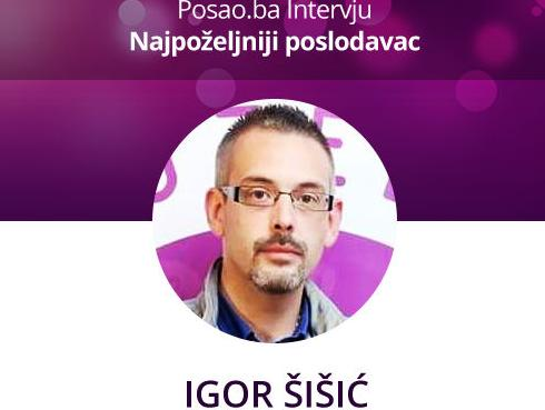 Igor Šišić: KimTec je izazovno mjesto za profesionalni i osobni razvoj