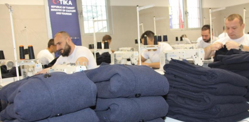 U zatvoru u Zenici otvorena šivaonica u kojoj će raditi zatvorenici