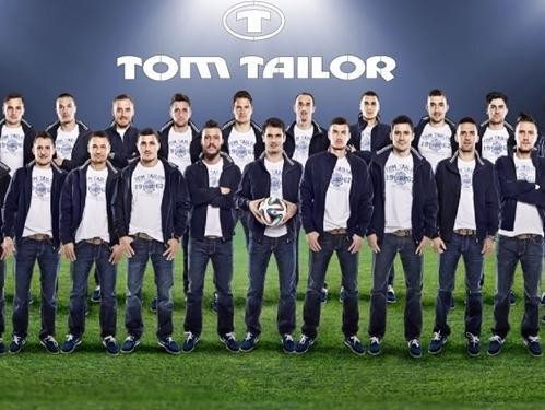 Tom Tailor je novi sponzor naše reprezentacije
