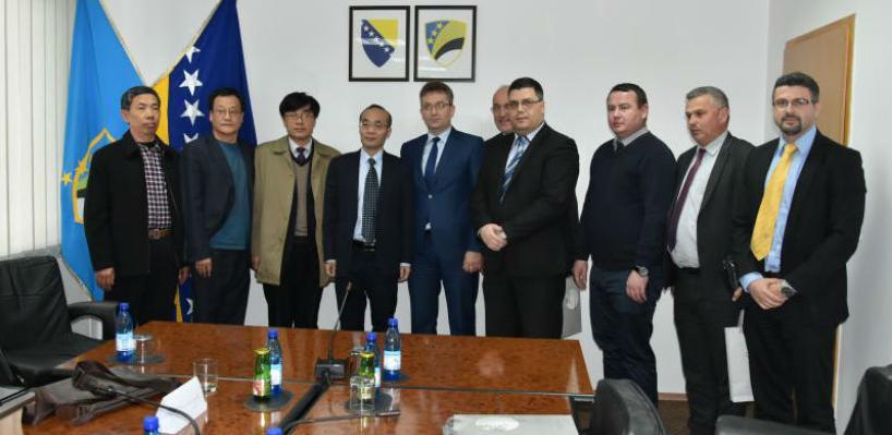 Delegacija Vlade je gostima iz Kine predstavila Tuzlanski kanton i njegove komparativne prednosti.