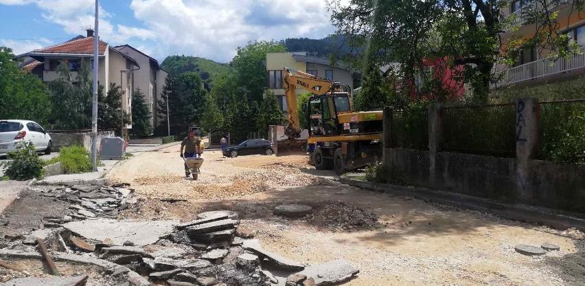 Bosman vrši rekonstrukciju sarajevske ulice Avde Smajlovića