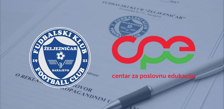 FK Željezničar i Centar za poslovnu edukaciju potpisali ugovor o saradnji