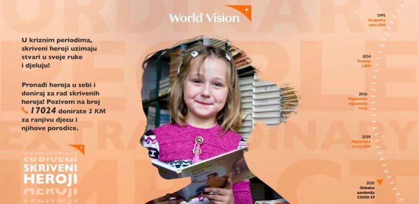 World Vision pokrenuo društveno–odgovornu kampanju #Skriveniheroji