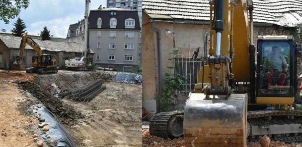 Počela izgradnja stambeno-poslovnog objekta kod nekadašnje Očne klinike