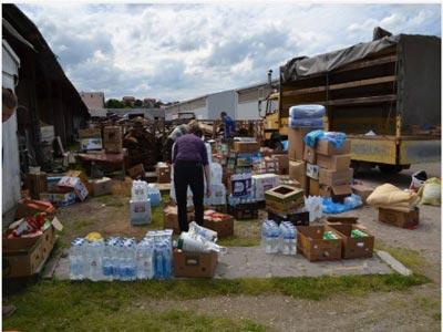 Caritas BK u BiH i dalje radi na prikupljanu pomoći za ugrožene poplavama