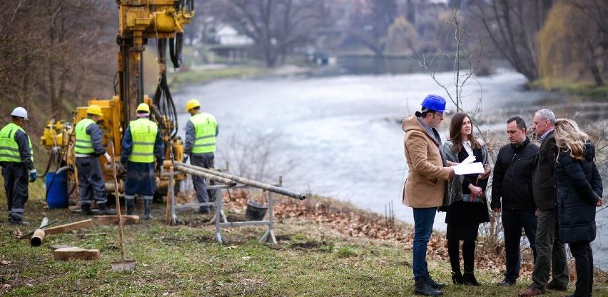 Počela geotehnička ispitivanja za novi most u Docu