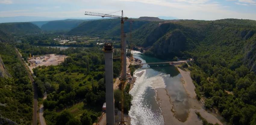 Napreduju radovi u Hercegovini: Zahuktala se gradnja kolosalnog mosta Počitelj
