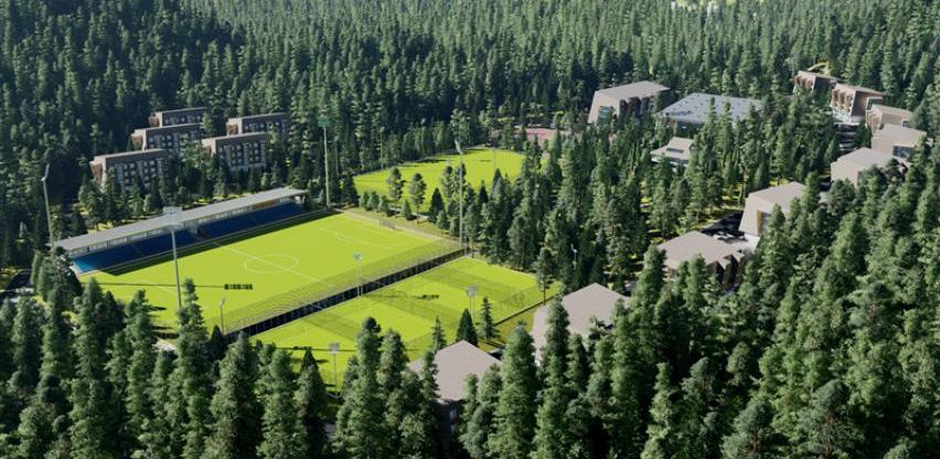 Projekt od 20 mil. KM: Počinje izgradnja Poslovno - sportskog centra Trnovo