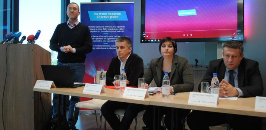 Javne nabavke u BiHi dalje netransparentne i diskriminirajuće