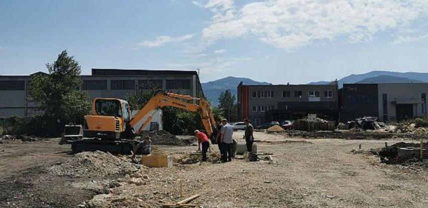 Intenziviraju se radovi na izgradnji saobraćajnica u Poslovnoj zoni Zenica 1