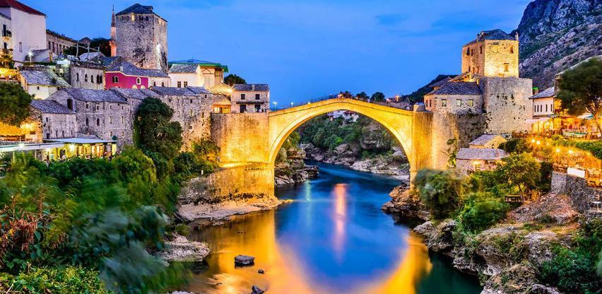 Mostar na vrhu liste najpotcjenjenijih romantičnih gradova na svijetu