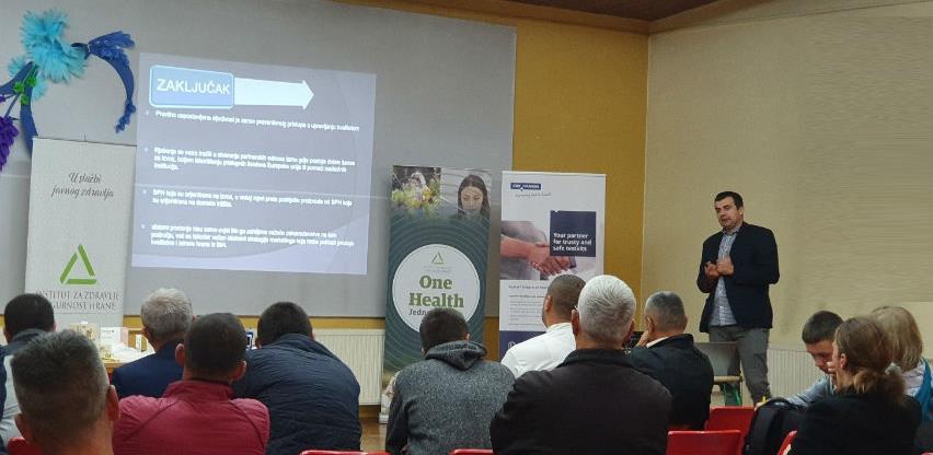 """INZ učestvovao na sajmu poljoprivredno-prehrambenih proizvoda """"Jesen u Visokom"""""""