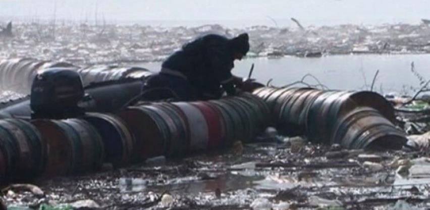 Oko 4.000 kubika smeća stiglo na branu HE Višegrad