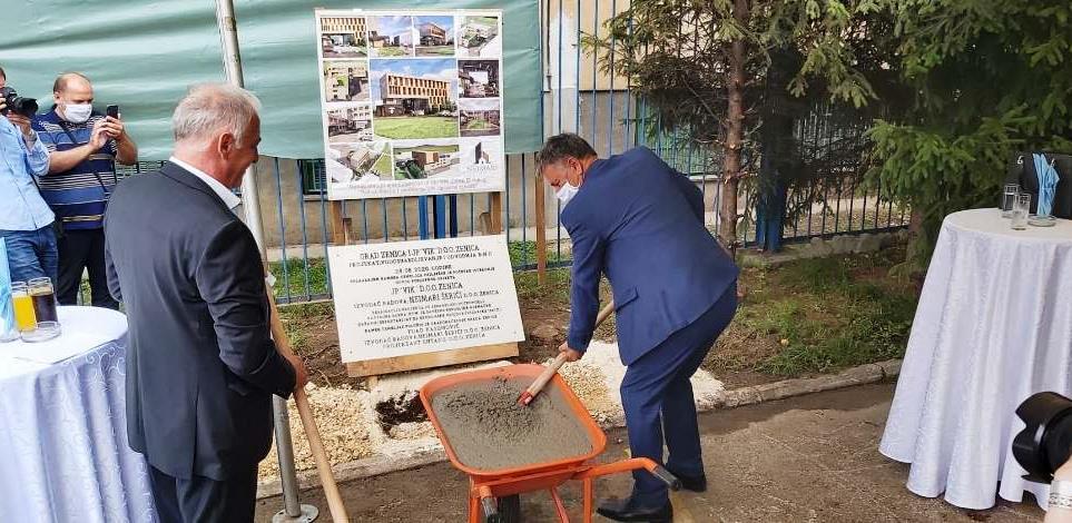 Položen kamen-temeljac za novu zgradu zeničkog Vodovoda
