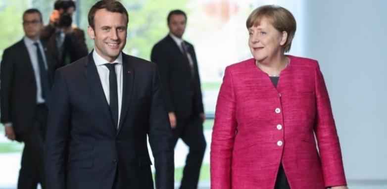 Merkel pozdravila Macronov govor o reformi EU