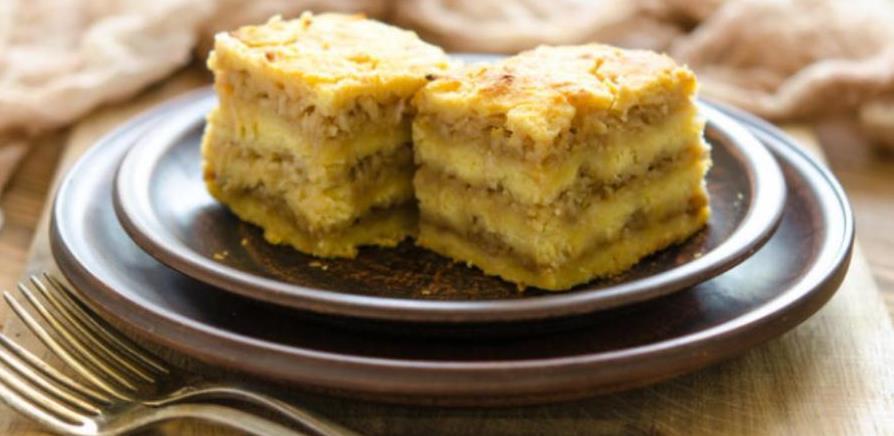 Starinski kolač od jabuka i griza