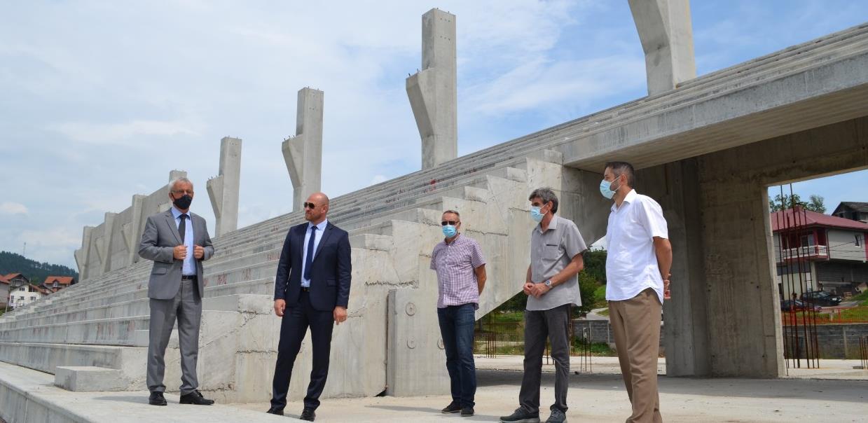 Kanton izdvojio 500.000 KM za II fazu izgradnje Gradskog stadiona u Ilijašu