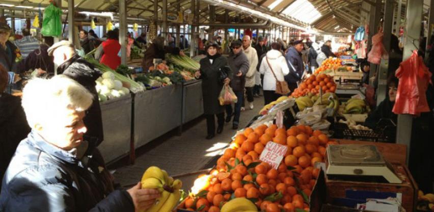 U novembru smanjena prodaja poljoprivrednih proizvoda na tržnicama