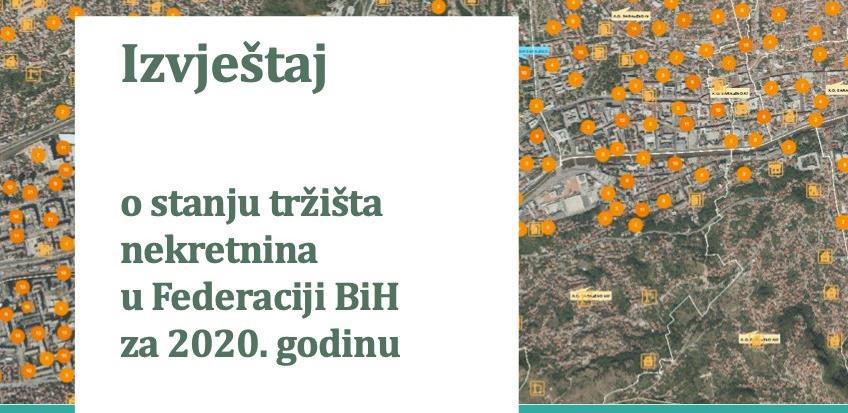 Godišnji prikaz tržišta nekretnina u FBiH: Najskuplji stan plaćen u Novom Sarajevu 900.000 KM