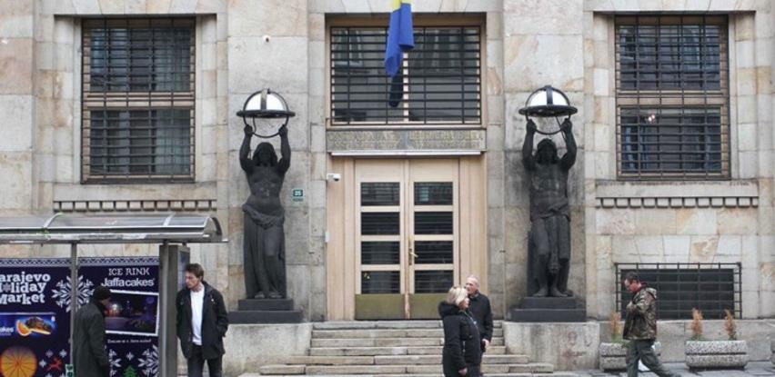 Kapital Centralne banke BiH za tri mjeseca pao 84 miliona KM