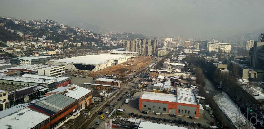 Pogledajte kako napreduje izgradnja najvećeg tržnog centra Bingo u Sarajevu