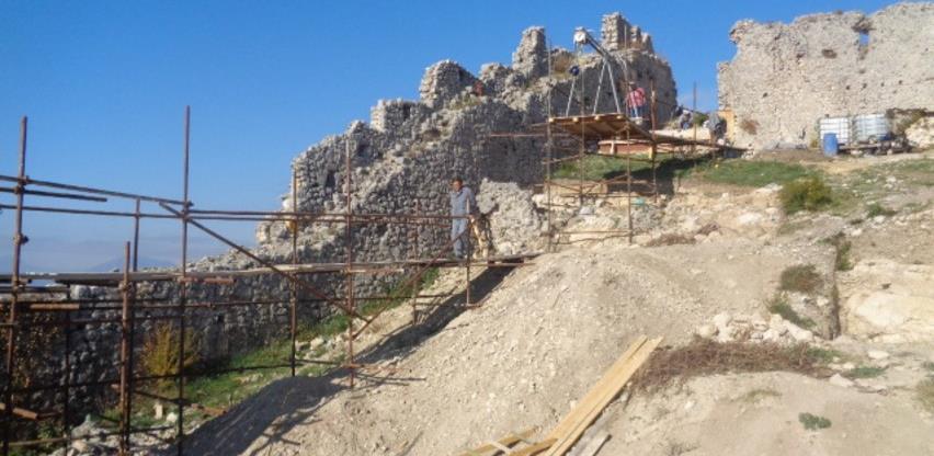 Obnova Starog grada u Ljubuškom: Prva faza rekonstrukcije završava uskoro