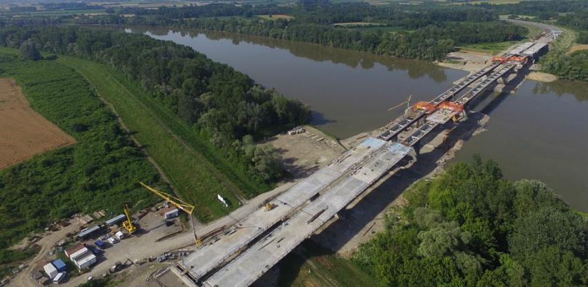 Završeno više od 80 posto radova na izgradnji mosta Svilaj