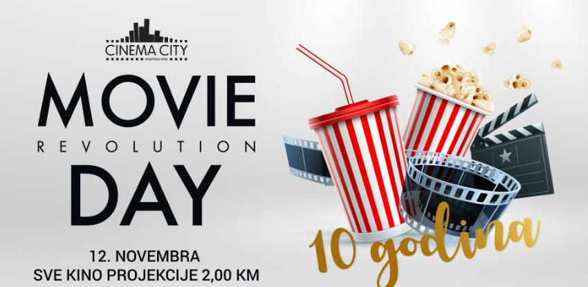 Svi u kino! - Movie Revolution Day 12. novembra u Cinema Cityju