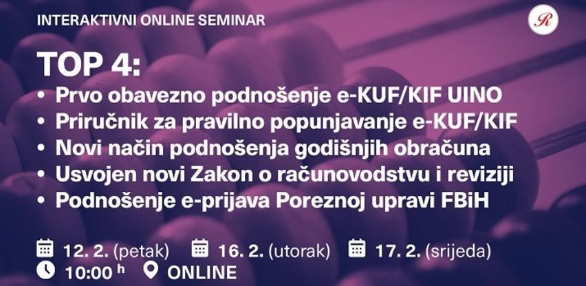 Revicon interaktivni online seminar: Top 4