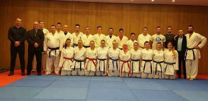 BiH sa 18 karate takmičara nastupa na SP u Madridu