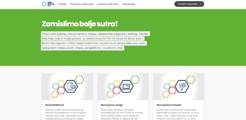 BIT Alijansa i UNDP pokreću digitalni ideaton za odgovor na COVID-19 u BiH