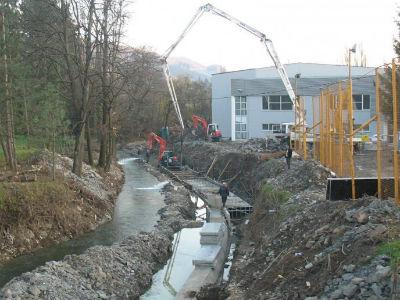 Počinju radovi na trajnom uređenju korita rijeke Ljubine