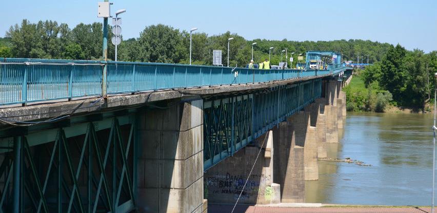 Počeli pripremni radovi za rekonstrukciju mosta Brčko-Gunja