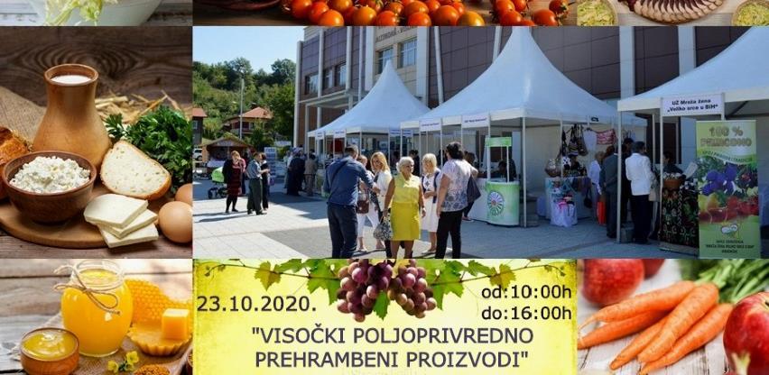 "U petak počinje manifestacija ""Visočki poljoprivredno - prehrambeni proizvodi"""