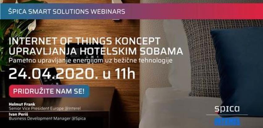 Besplatni webinar - IoT koncept upravljanja hotelskim sobama