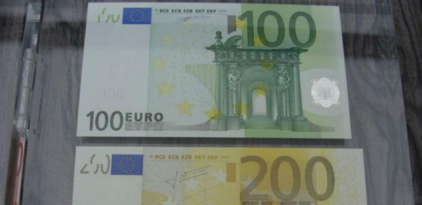 Predstavljene nove novčanice od 100 i 200 eura