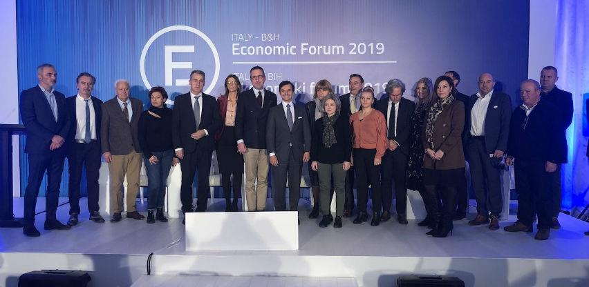 Dvije milijarde eura ekonomske razmjene Republike Italije i BiH u ovoj godini