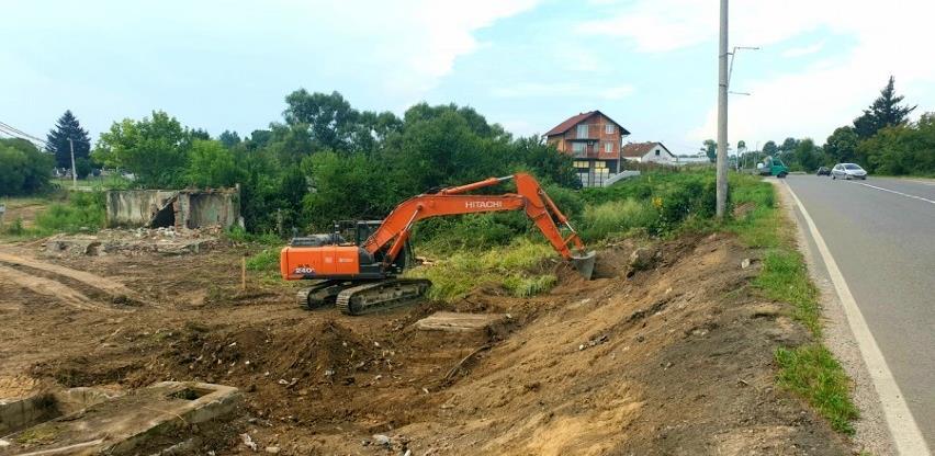 Počeli radovi na izgradnji druge kružne raskrsnice u Brodu