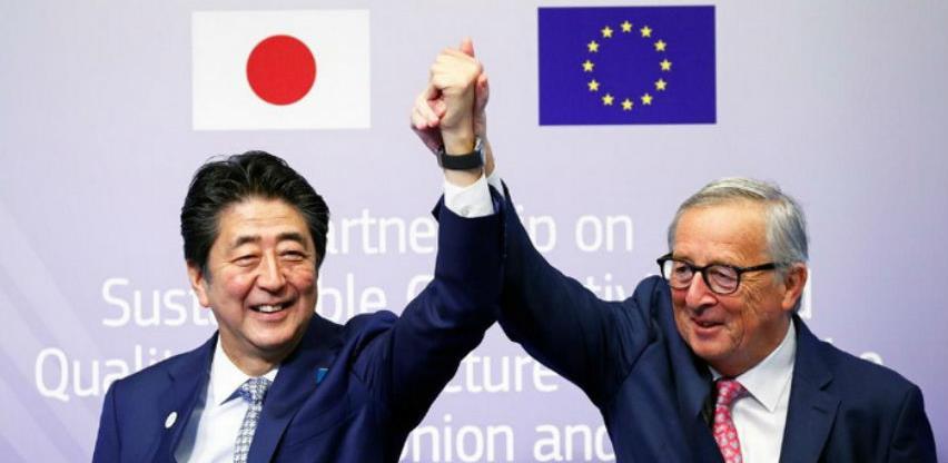 """EU i Japan potpisali sporazum da zaobiđu Kinin """"put svile"""""""