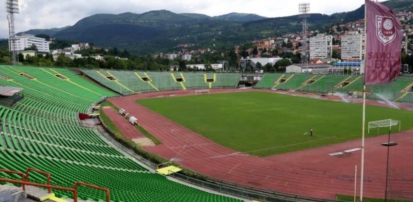 Posao vrijedan 1,6 miliona KM: Počinje rekonstrukcija stadiona Koševo