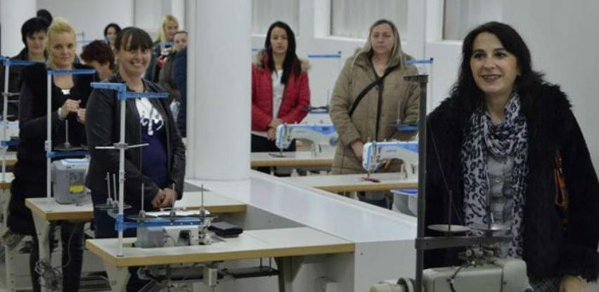 U Srebrenici otvoren tekstilni pogon, posao dobilo 40 žena