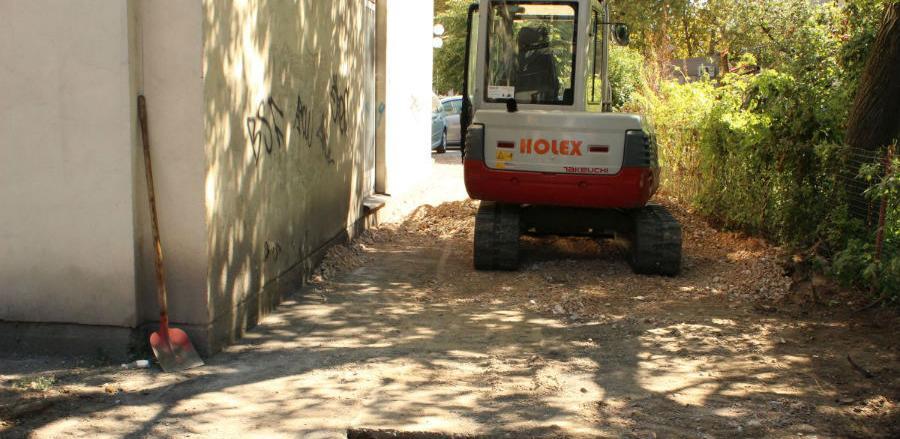 Izgradnja i asfaltiranje ulice oko Doma zdravlja Živinice