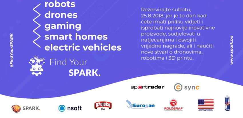 Find Your Spark 2018: Gadgeti, natjecanja i radionice