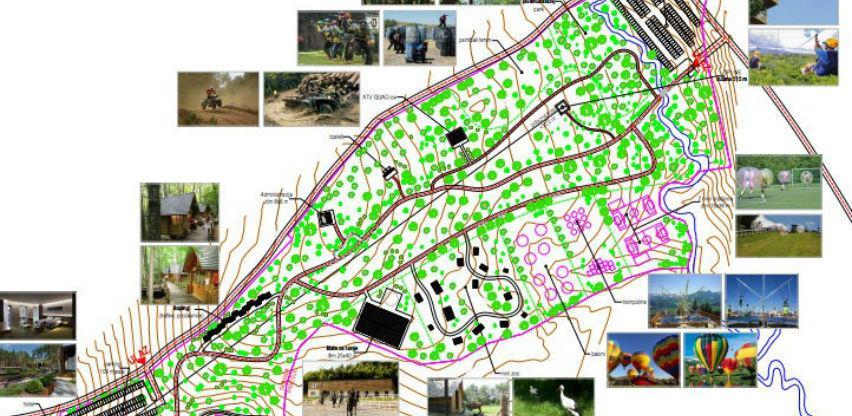 """Nastavljeni radovi na izgradnji """"Adrenalin parka"""" u Varešu, prvi sadržaji u maju"""