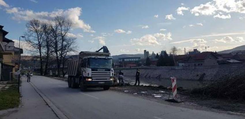 Pola miliona KM za uređenje desne obale rijeke Bosne u Kaknju