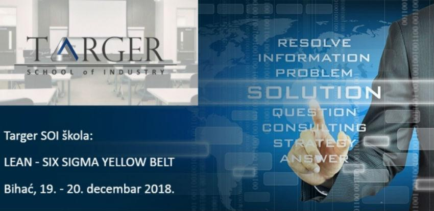 Targer School of Industry trening: LEAN - SIX SIGMA YELLOW BELT