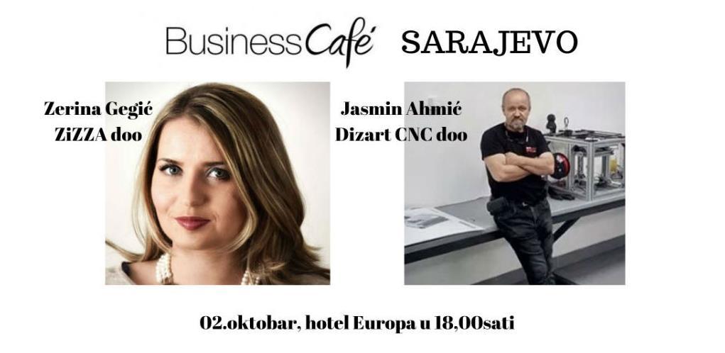 26. Business Cafe u Sarajevu: Inovativnost, krativnost i poduzetnost